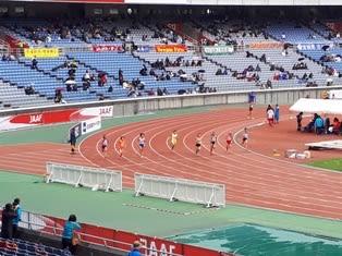 ジュニアオリンピック 陸上競技...