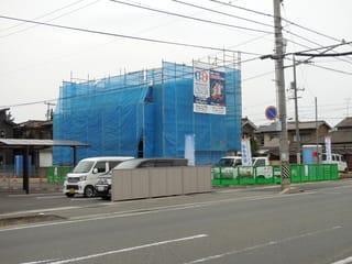 手城町の新築工事