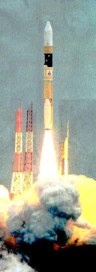 「みちびき」2号を搭載したH2Aロケット34号機
