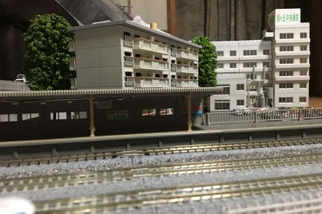 モジュール改修2019 建物の配置に悩む , 光山鉄道管理局