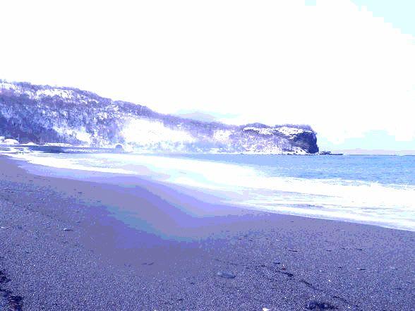 島牧村の海アメ 3月1日 - キクちゃんの北海道大物釣行記