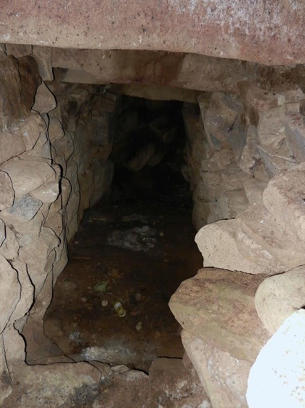 琴平山古墳羨道部