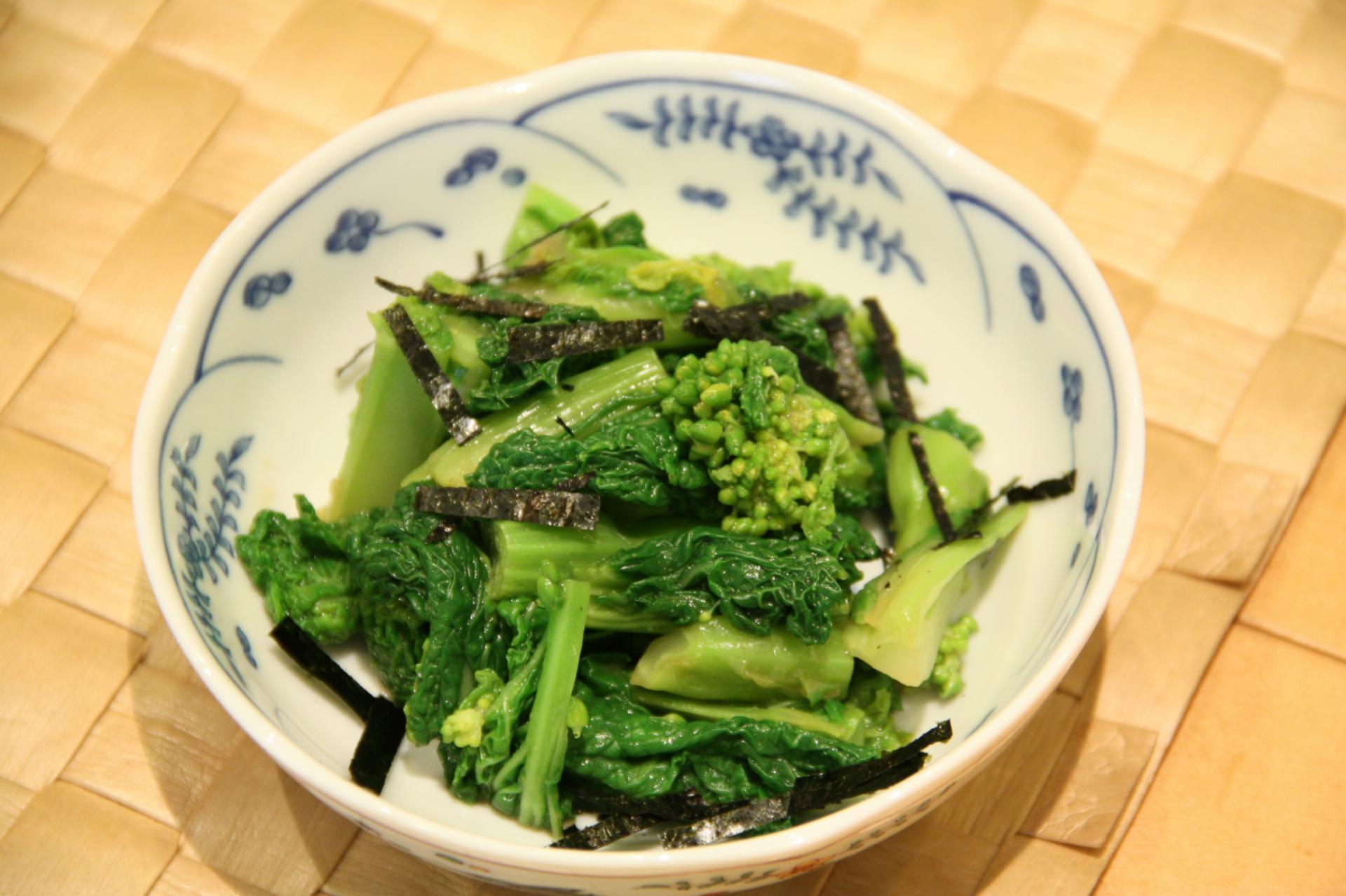 和え 菜の花 辛子 菜の花のからしあえのレシピ・作り方 【簡単人気ランキング】 楽天レシピ