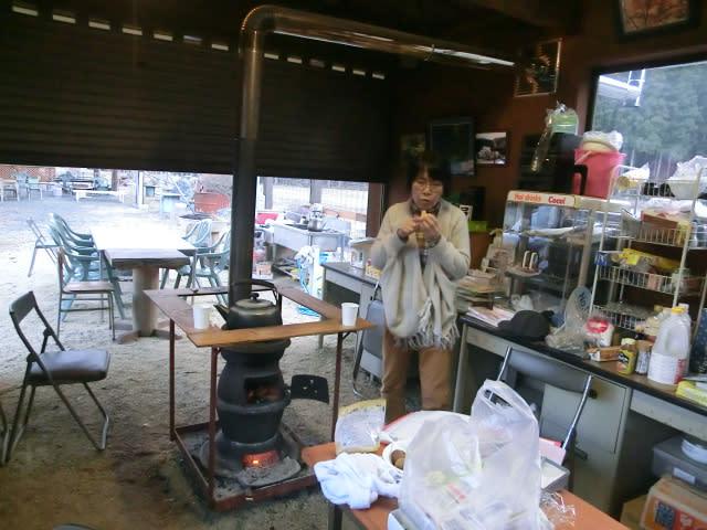 西田さんと練習