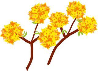 Yosigamoイラスト 雲龍柳 赤い柳が芽を吹き始めました Yosigamo