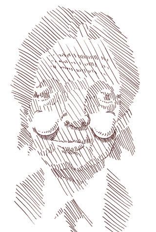 ポール・マッカトニーの似顔絵