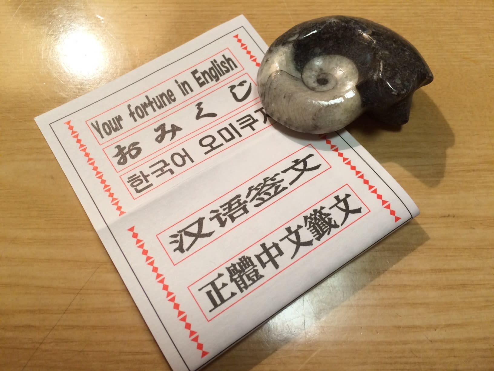417 多国籍おみくじ Photo Vox