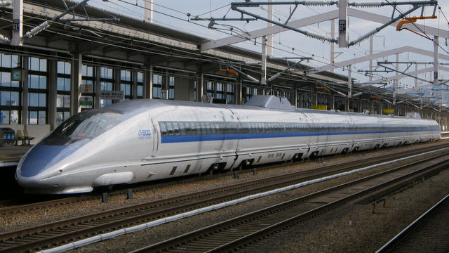 新幹線500系8両編成
