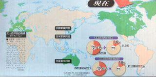 四つだけの軍事同盟/世界人口67...