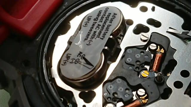 bf7a28ca0f カシオG-SHOCKの電池交換です 今回のお品ものは電池2個使用しています。 中には4個のものもあります。 ライト付きのお品ものには、電池 を複数個使うものあります。