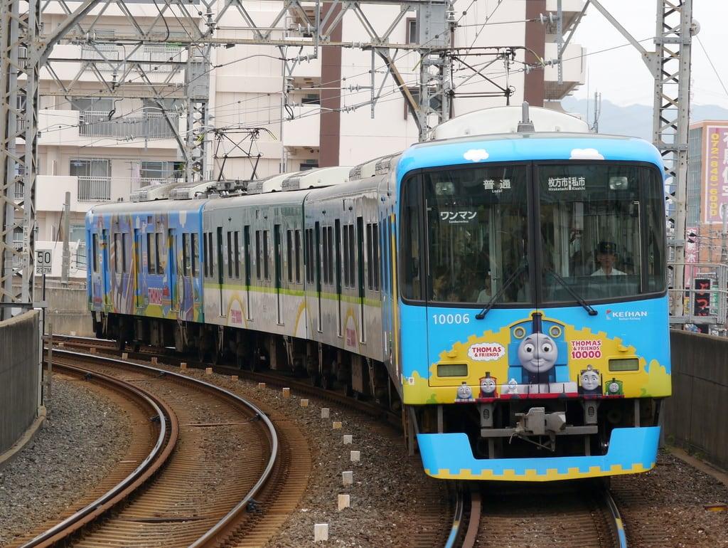 京阪10000系「きかんしゃトーマス号2013」