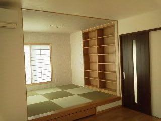 寝室・LDのアクセントクロス実例 - 大垣市の 親切ていねいな ...