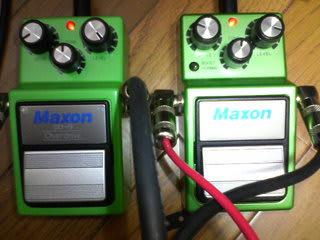MAXON OD9 OD9PRO+ - Pのブログ ~自宅録音とか~