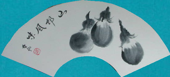 哲仙の水墨画