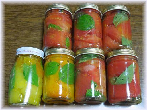 トマトの瓶詰め 2012年7月11日