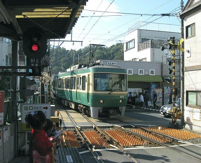 江ノ電(2009年撮影)
