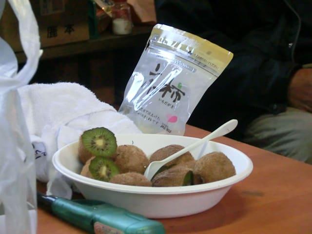 キウイと市田柿
