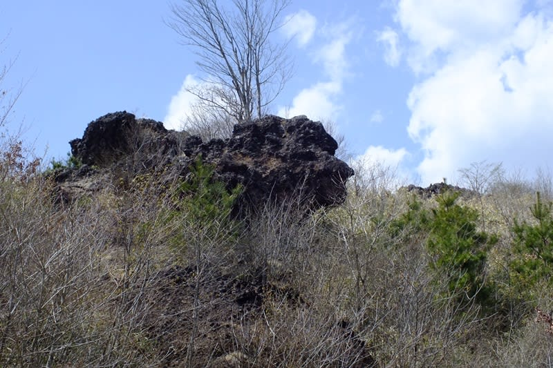 平沢峠の獅子岩