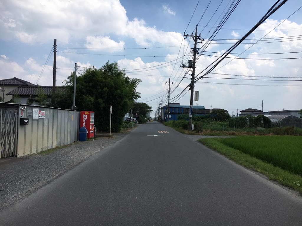 越谷陸軍飛行場跡 - 幻の飛行場の痕跡を探す - HBD in Liaodong Peninsula