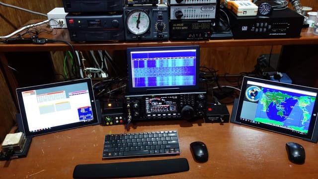 CQ160CW Operation Desk