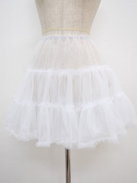 14c437a57018b パニエ004 ちょうど良いボリュームのソフトなパニエ パーティードレスのスカートをふんわり♪ 結婚式 パーティー 演奏会