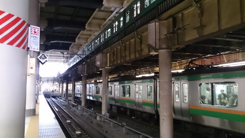 上野駅の奇跡!?