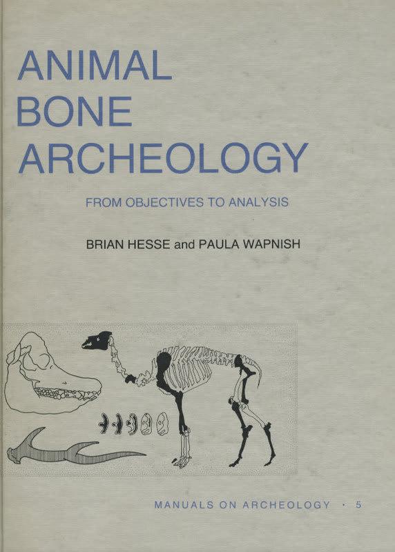 動物考古学の洋書11.動物の骨の考古学 - 人類学のススメ