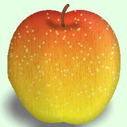 林檎 リンゴ の戦い 3連チャン リンゴの皮柄の描き方 地名の品格