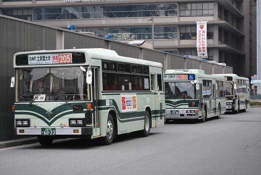 京都市交通局 3月の臨時バス - ...