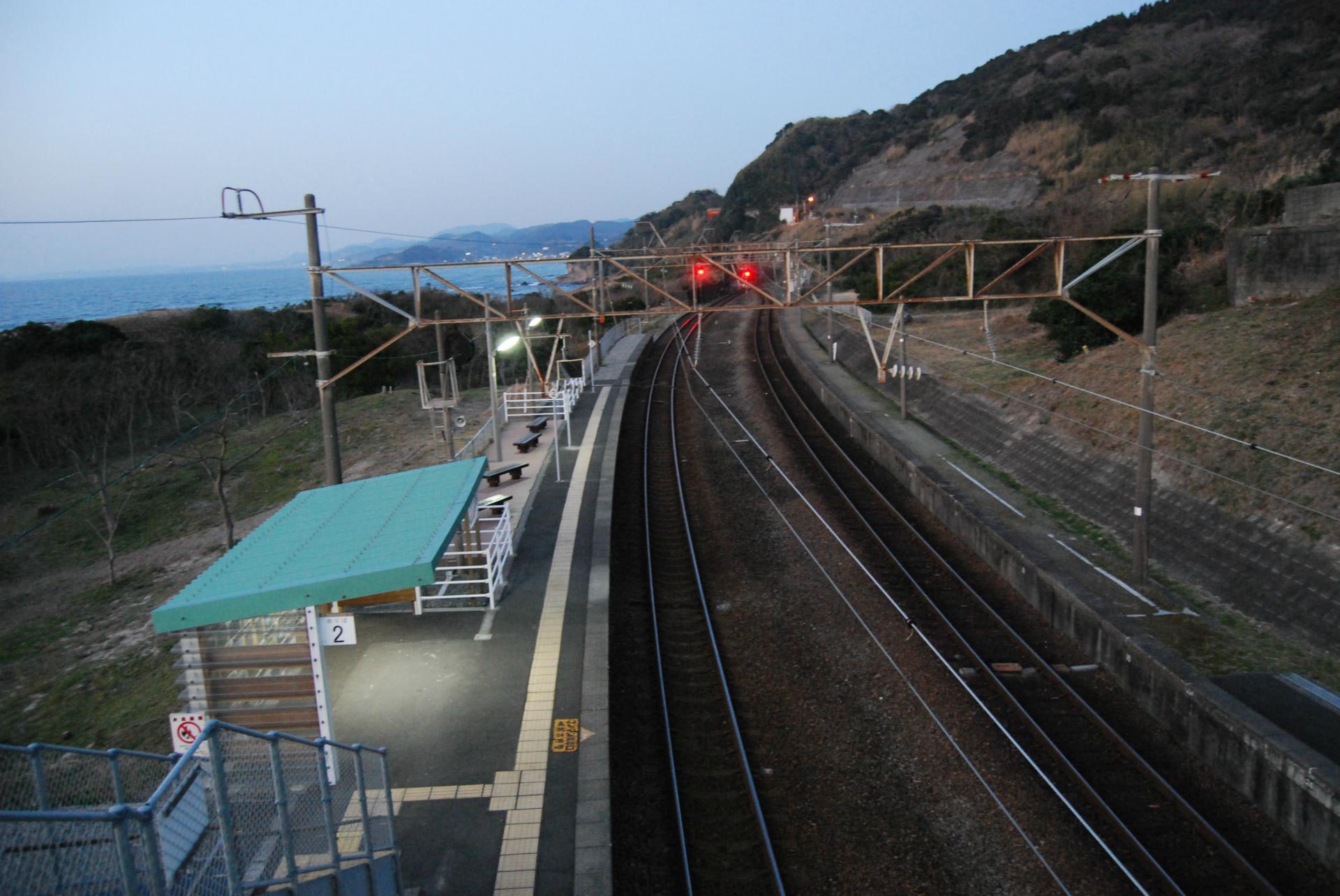 薩摩高城駅he - 薩摩川内から