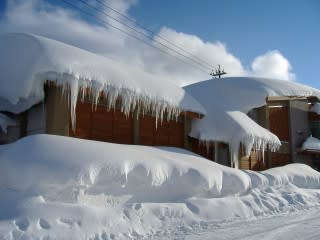 平成18年豪雪。大山はコレが普通!?・・・と思いきや豪雪だったと後で知りました