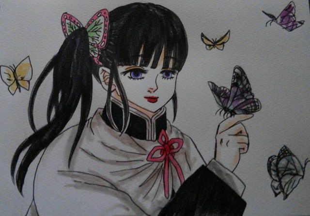 栗花落カナヲ(鬼滅の刃) , 蝶の迷宮・再装填奇譚