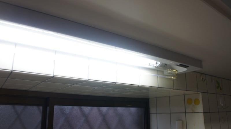 キッチンの手元照明