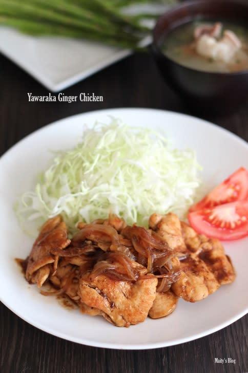 鶏胸肉の柔らか生姜焼き(改良版) - マイティの Awesome Cooking