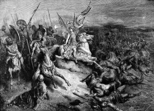 「ヨシュア記」などを見れば、彼らには「略奪と女子供そして家畜の一頭、一匹まで殺戮する」この事を、「聖絶」と呼んで神より下された尊い、当然の権利と賛美している。