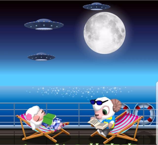 23時台UFO