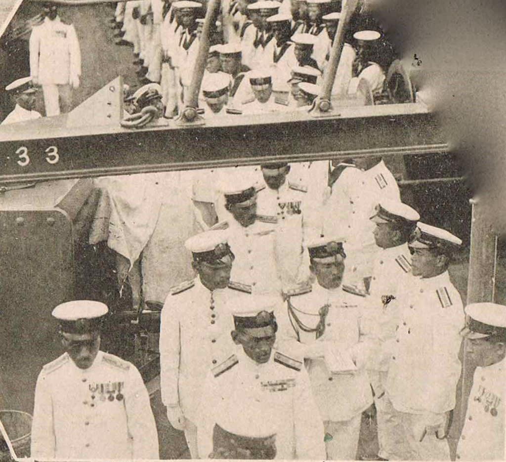 大正13年度 帝国海軍練習艦隊〜横須賀帰国 - ネイビーブルーに恋をして