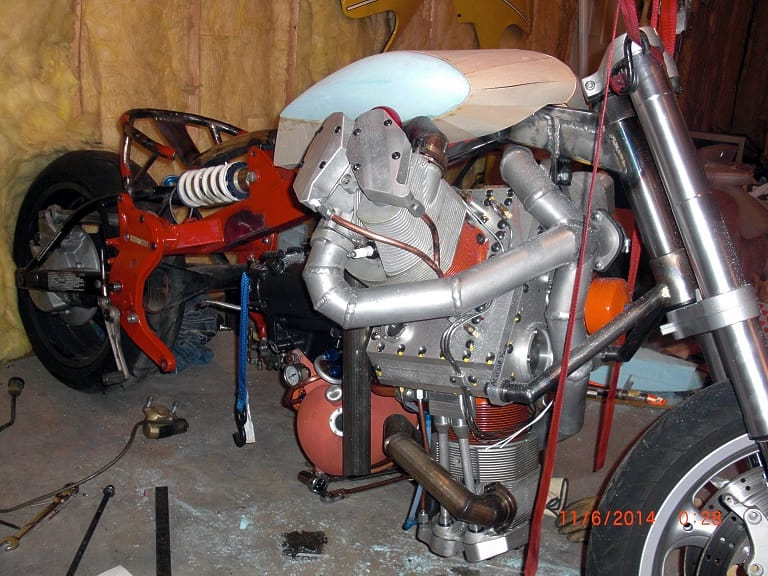 Three Wheel  Kawasaki Supercharger