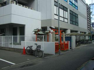 福山空襲で焼失を免れた稲荷神社