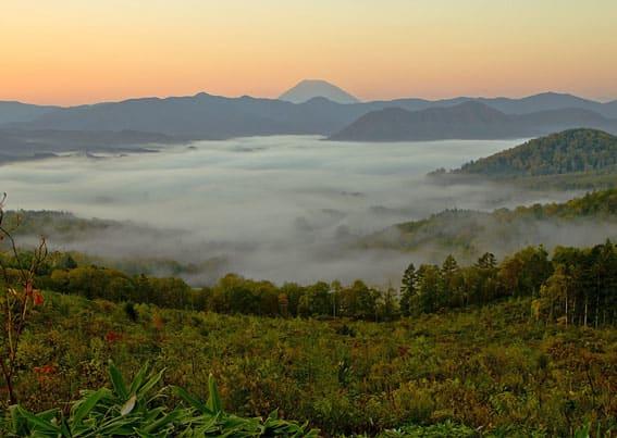 No 34 ・ 紅葉の季節ニセコ方面へ - 嵯峨秋雄 北の風景