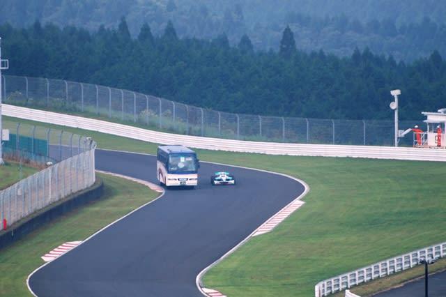 オートポリス フォーミュラニッポン 20090830 - 阿蘇が見える街 熊本