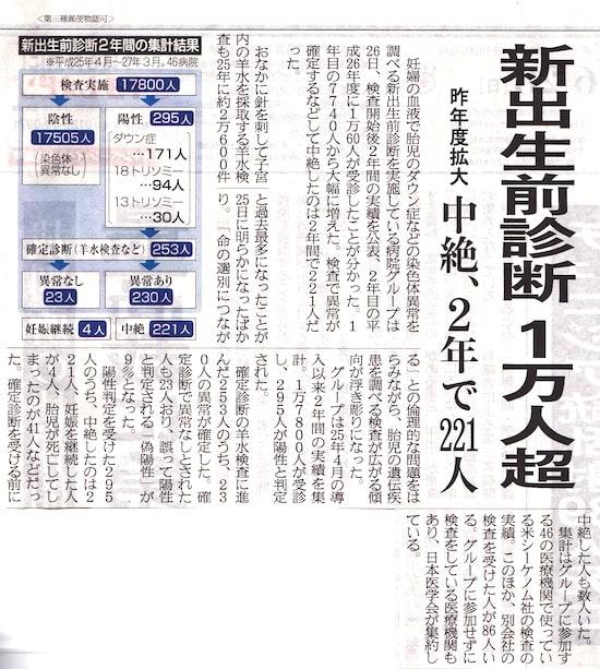 日本と海外の出生前診断の現状比較 - 2015年6月28日 [高齢出産のリ... - Yahoo!知恵袋
