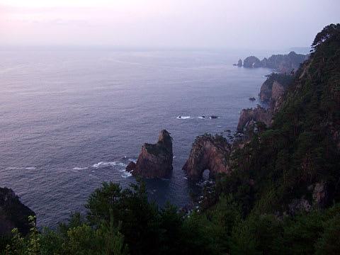 第一展望台からの北山崎
