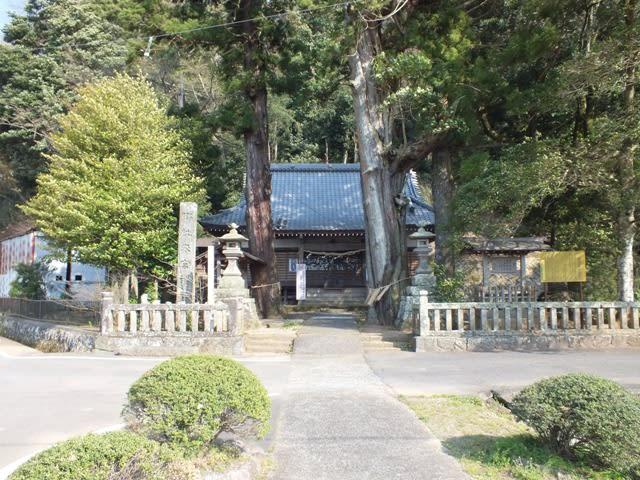 伊豆市の八幡(はつま)来宮神社