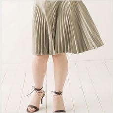 「脚の太い女性のミニスカ姿、どう思う? ←」の質問画像