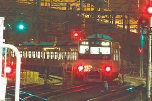 大阪駅、環状線ホームから