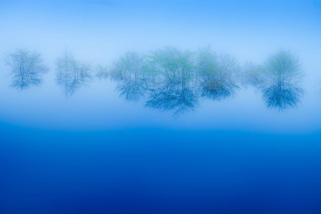 四万ブルーの写真