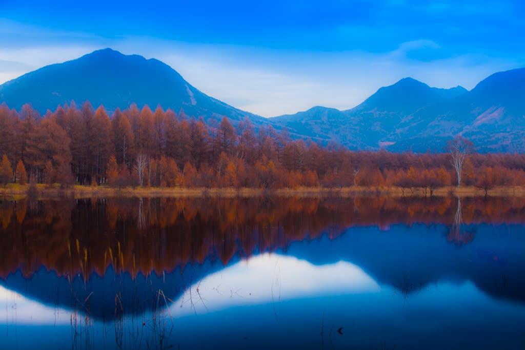 小田代湖の写真