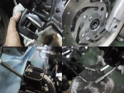 FLHRのメンテナンスと修理