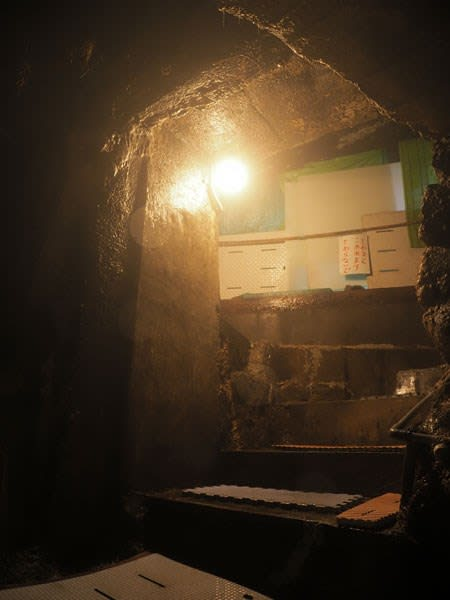 卜伝の湯の階段